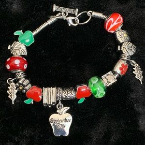 """Willabee and Ward """"September Sass"""" Charm Bracelet"""